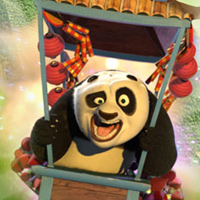 Kung Fu Panda World : Fireworks Cart Racing